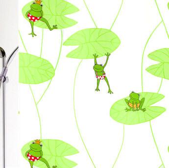 Froggy frog shower curtains frog design vinyl shower curtain