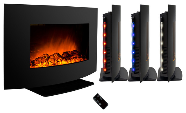 Akdy ag z520alb wall mount electric fireplace log 36 w for Indoor fireplace kits