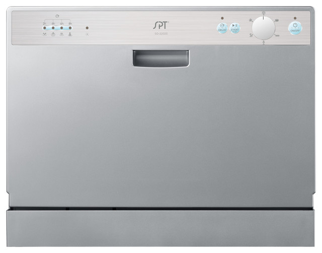 Countertop Dishwasher Silver : All Products / Kitchen / Major Kitchen Appliances / Dishwashers