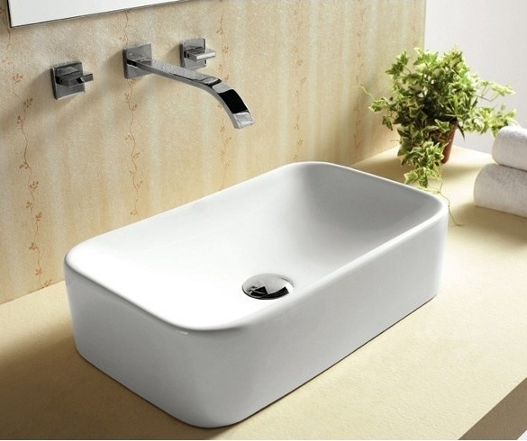 Above Counter Vessel Sink : Above Counter Vessel Sink by Caracalla - Contemporary - Bathroom Sinks ...