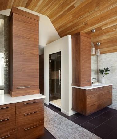 Natural Spa Contemporary Bathroom Chicago By