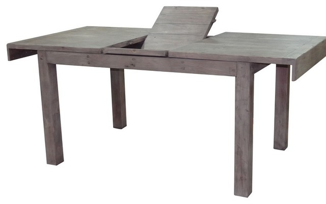 Small Reclaimed Wood Extendable Dinning Table Sundried  : rustic dining tables from houzz.com size 640 x 400 jpeg 24kB