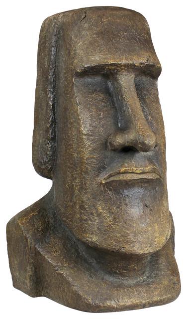 easter island ahu akivi moai monolith statue extra large. Black Bedroom Furniture Sets. Home Design Ideas