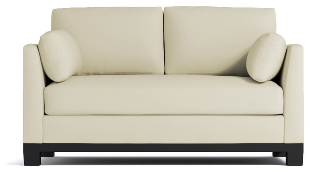 avalon apartment size sofa buckwheat contemporary