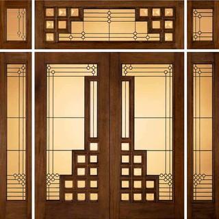 Jeld Wen 260 Genuine Mahogany Doors And Sidelights