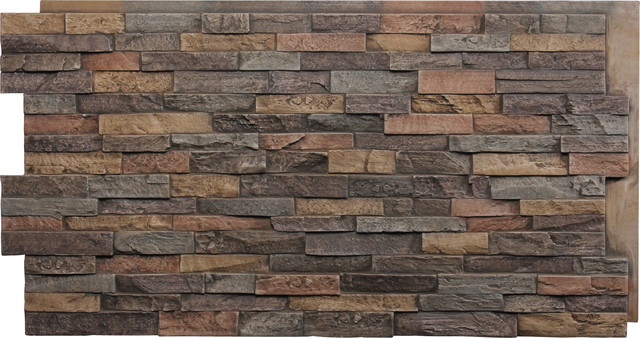 Dry Stack Faux Stone Panels Traditional By Fauxpanels