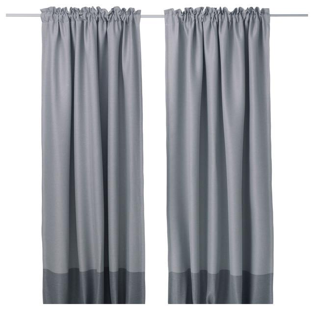 marjun bauhaus look gardinen vorh nge von ikea. Black Bedroom Furniture Sets. Home Design Ideas