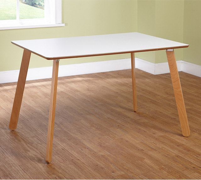 simple living beatrice dining table contemporary dining tables