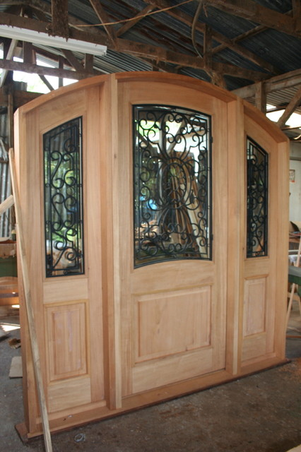 hany saleeb conn traditional front doors miami by