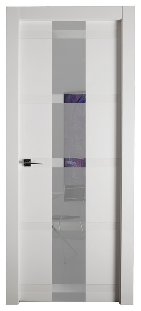 Horus V White Lacquer High Gloss White Lacquer 24 Modern Interior Doors By Elite Home