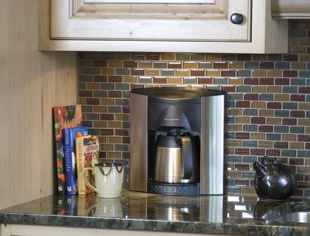 Brew Express Built-In Coffee Maker - Contemporary - Coffee ...