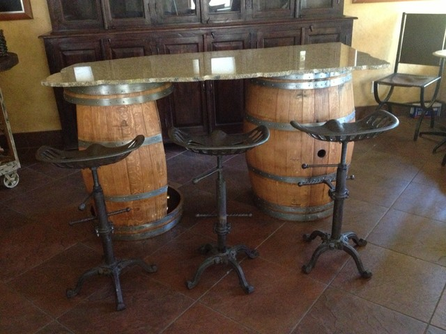 Suisun Valley Ca Wine Barrel Furniture Contemporary