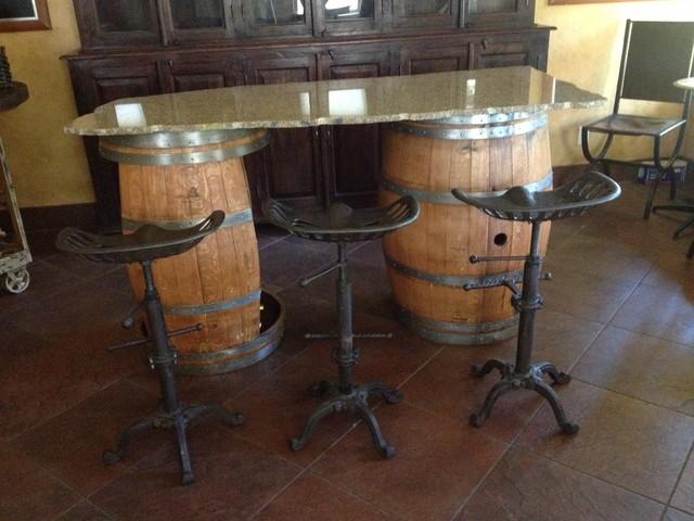 Suisun Valley Ca Wine Barrel Furniture Contemporary  : contemporary wine cellar from www.houzz.com size 640 x 480 jpeg 78kB