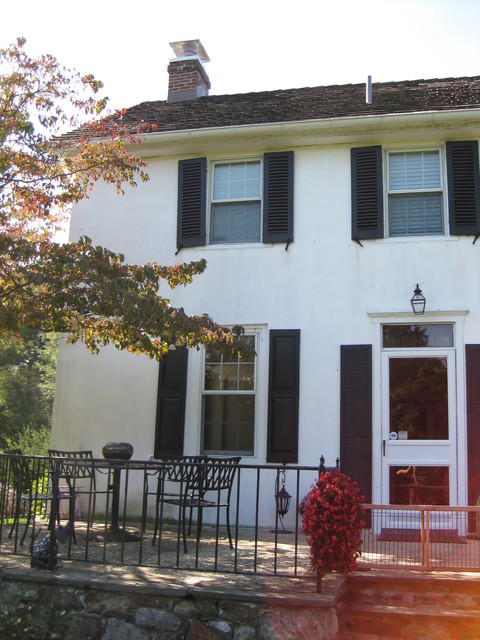 225 year old Farmhouse Exterior Restoration (stucco and ...