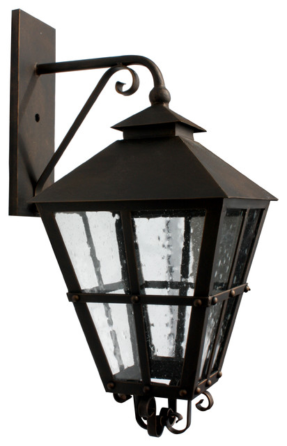 EX-042 Custom Exterior Iron Lights - Mediterranean - Outdoor Wall Lights And Sconces - san diego ...