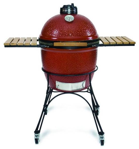 Kamado Joe Outdoor Kitchen: Kamado Joe Ceramic Grill & Smoker