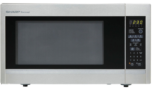 Countertop Microwave Gardenweb : ... Stainless Steel Countertop Microwave Oven contemporary-microwave-ovens