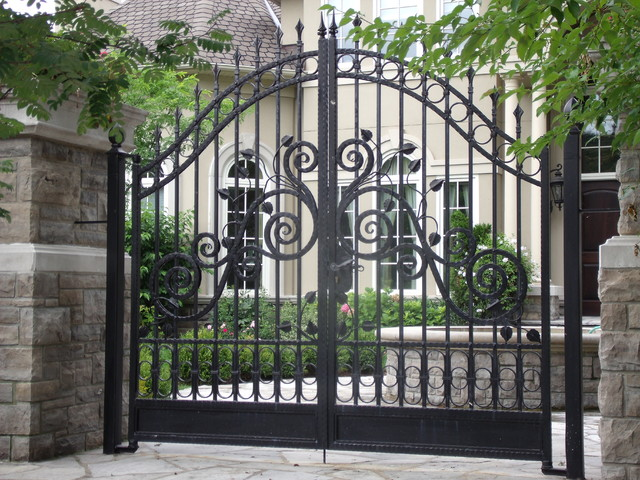 Variety of Iron Gate Designs - toronto - by Omega Iron Works and ...