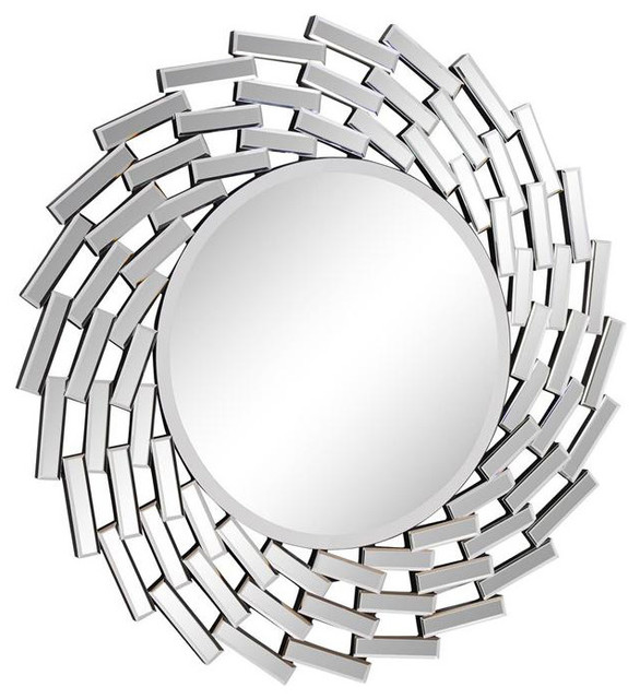 round decorative mirror contemporary wall mirrors by