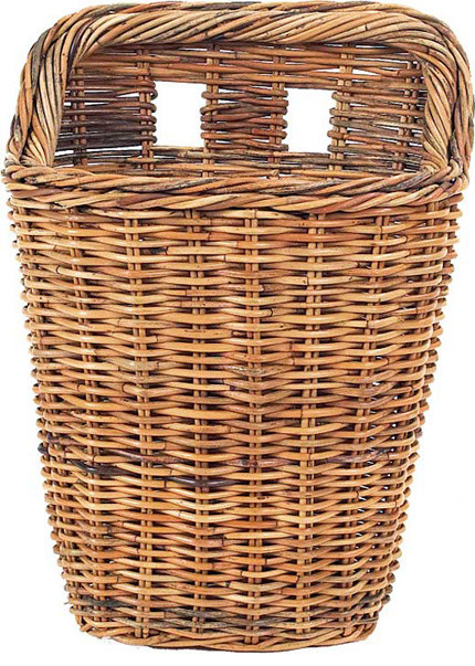 French Country Rattan Wall Basket 20 Quot Farmhouse