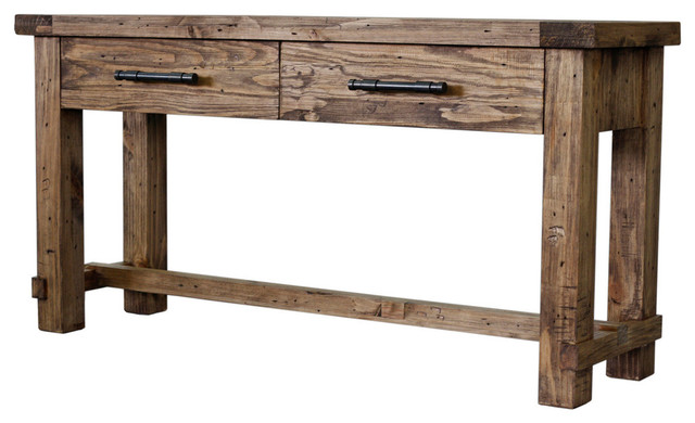 Country Sofa Table Rustic Console Tables By Cdi