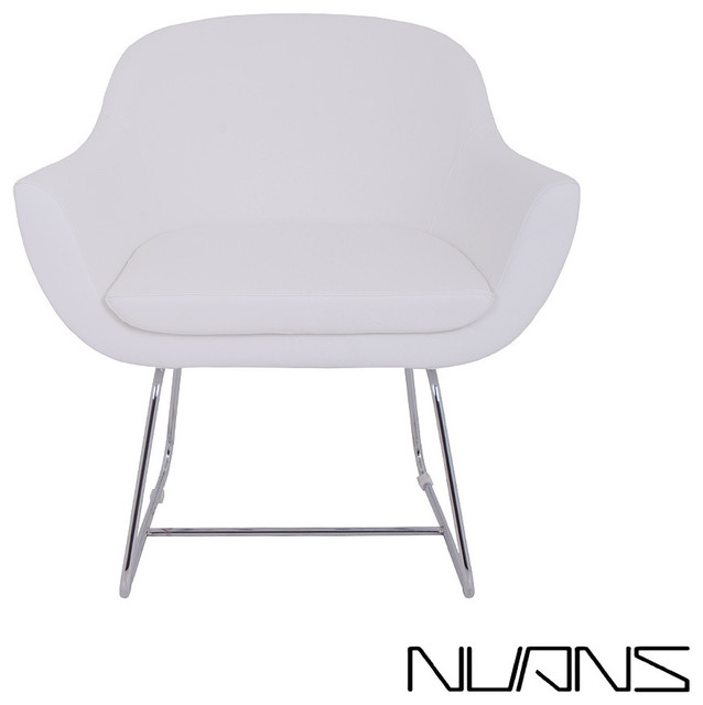 Chelsea lounge chair wire base nuans modern chaise for Chaise longue tours