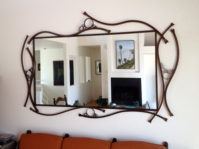large kelp bubbles mirror frame contemporary wall mirrors