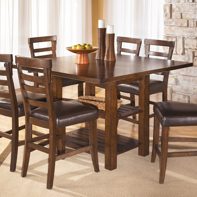 Square Dining Room Extendable Table Contemporary Dining Tables