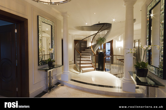 Image gallery house entrance hall for Modern home hall design