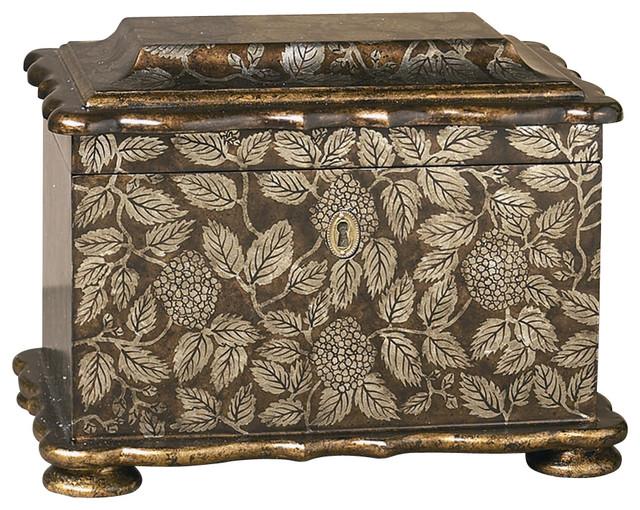 Decorative Boxes That Lock : Decorative box w lock traditional boxes