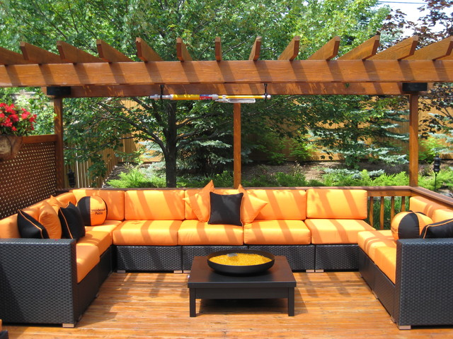 Patio furniture deep seating contemporary patio for Outdoor furniture toronto