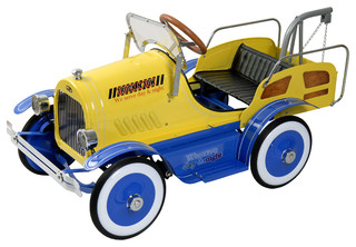 Pedal Stool Sink : Deluxe Tow Truck Pedal Car - Modern - Kids Toys And Games - by ...