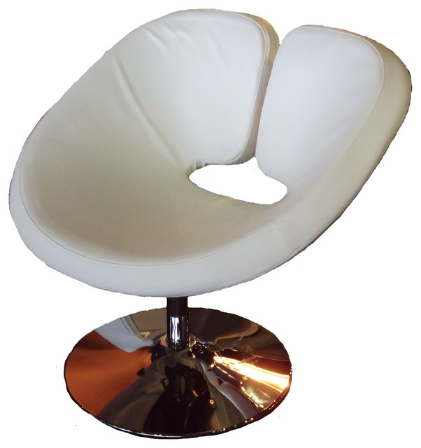 Swivel occasional image chair contemporary armchairs for Modern swivel accent chair