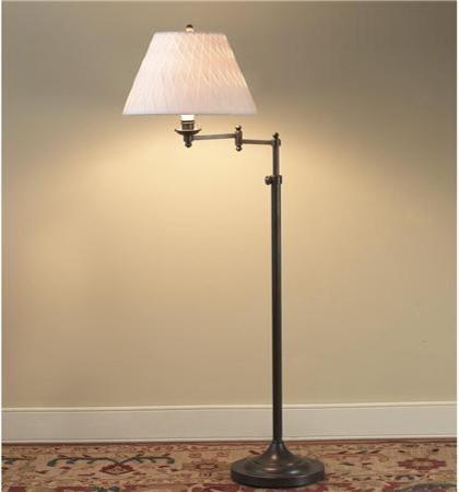 Designer Swing Arm Floor Lamp Base Only No Shade Shades