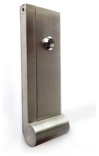 Ap door knocker modern door knockers by desu design - Peephole door knocker ...