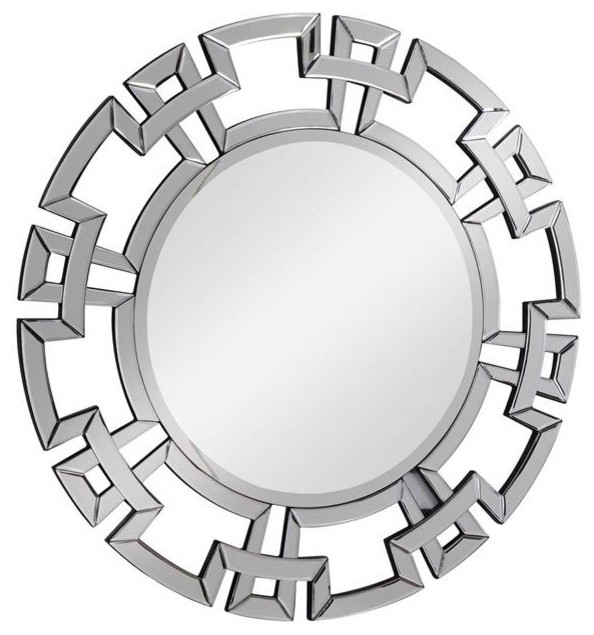 Round Wall Mirror Contemporary Wall Mirrors By