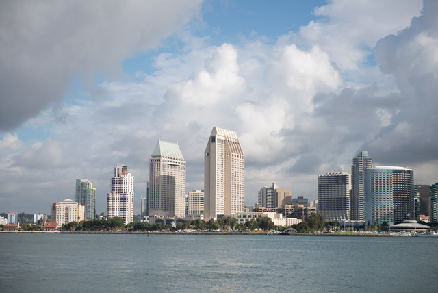 san diego from coronado island wall mural contemporary fromwhereistand wall murals to swoon over gohaus