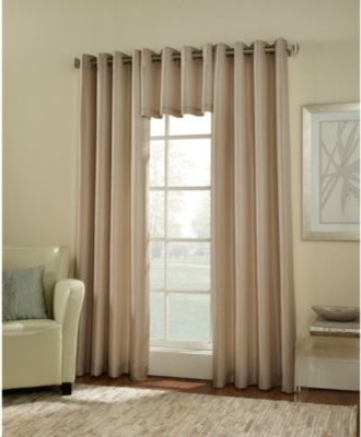 Argentina room darkening grommet window curtain panel Bed bath and beyond curtains for living room