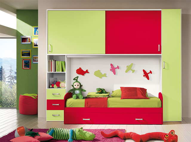 Kids Bedroom Composition VV S015 MIG Furniture Store Contemporary Kids