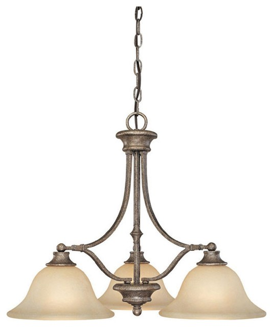 Elk Lighting Belmont: Capital Lighting 3413CS-259 Belmont 3 Light Chandelier