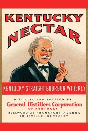 """Kentucky Straight Bourbon Whiskey"" Paper Poster - Traditional - Prints And Posters - by ..."