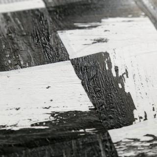 Schwarz mit wei papierquadrat tapete bauhaus look for Tapeten bauhaus
