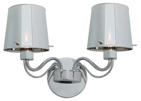 Modern Chrome Wall Sconces : Access Lighting 55531-CH, CHR Milano Modern Wall Sconce, Chrome - Contemporary - Wall Sconces ...