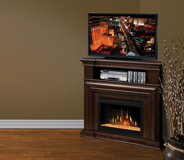 corner electric fireplace entertainment center 1