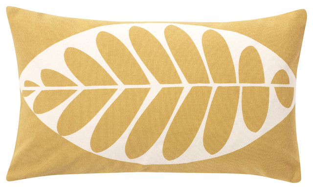 house of fraser beech leaf cushion. Black Bedroom Furniture Sets. Home Design Ideas