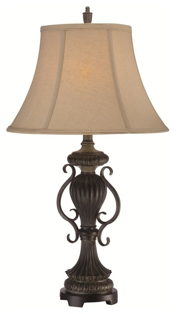 Mikael Table Lamp Traditional Table Lamps By Elite Fixtures