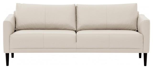 3 sitzer sofa renzo semianilinleder creme modern sofas by fashion4home gmbh. Black Bedroom Furniture Sets. Home Design Ideas
