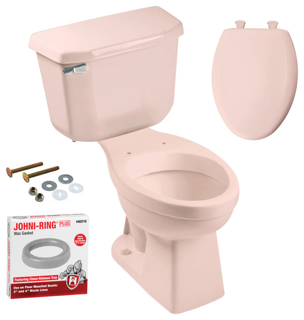 Peerless Pottery Mckinley Elongated Toilet With Seat