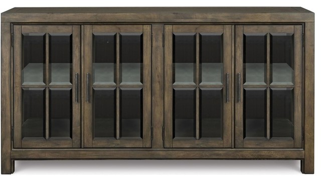 Magnussen Karlin Buffet Curio - China Cabinets And Hutches - by Quality Furniture Discounts