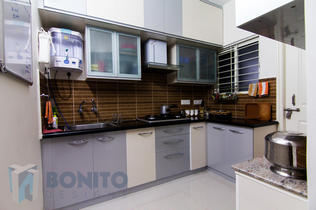 Mrs Bhavana Contemporary Kitchen Other Metro By Bonito Designs